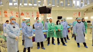Praktischer Kurs am Humanpräparat in Basel