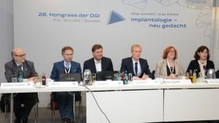 Pressekonferenz der DGI in Düsseldorf
