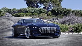 Ein Cabrio wie eine Yacht: Vision Mercedes-Maybach 6