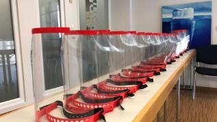 #Wir schützen Sie! Bösing Dental fertigt 3D-Druck-Schutzmasken