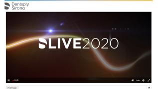 DS Live 2020 - erster digitaler Kongress von Dentsply Sirona