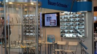 K.S.I.-Bauer-Schraube auf der IDS 2017