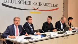 Gemeinsame Pressekonferenz von DGZMK, BZÄK und KZVB