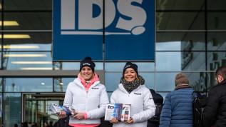 Messeimpressionen der IDS vom 16. März
