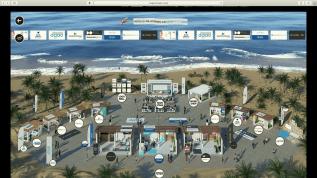DGAO Wissenschaftskongress: virtuelles Austellungsgelände
