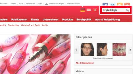 GUIDED TOUR ZWP online SUCHE