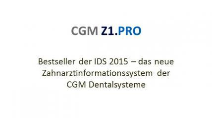 CGM Z1 PRO – Die neue Generation