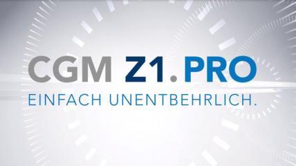 CGM Z1.PRO: Einfach unentbehrlich