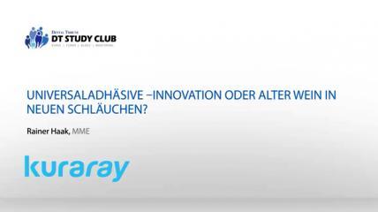 Kuraray Webinar zum Thema Universaladhäsive