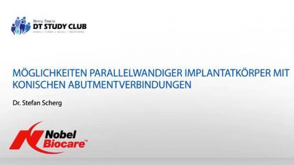 Webinar Nobel Biocare: Parallelwandiges Implantatsystem