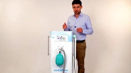 sedaflow® slimline – Lachgas sicher und effektiv einsetzen