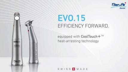 Evo.15 – Ausgestattet mit der COOLTOUCH+™ Technologie
