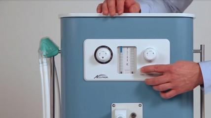 Das Flowmeter des sedaflow® slimline analog
