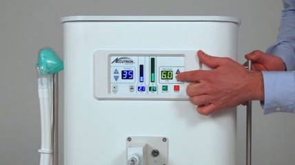 Das Flowmeter des sedaflow® slimline digital