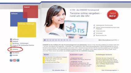 O-TIS – das EVIDENT Terminportal: Termine online vergeben