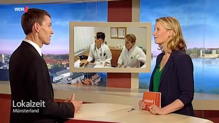Studiengang Physician Assistance in der WDR Lokalzeit Münster