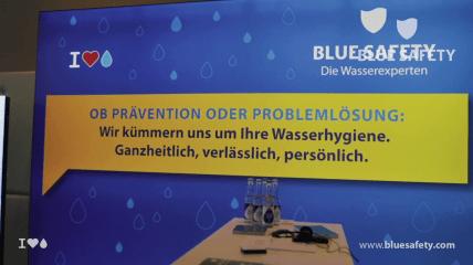 BLUE SAFETY: Weltweit größter DSD-Day in Düsseldorf begleitet durch Wasserexperten