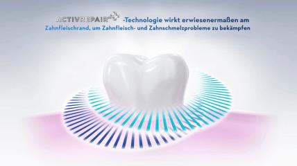 Die ActivRepair+-Technologie der neuen Oral-B PROFESSIONAL Zahncreme