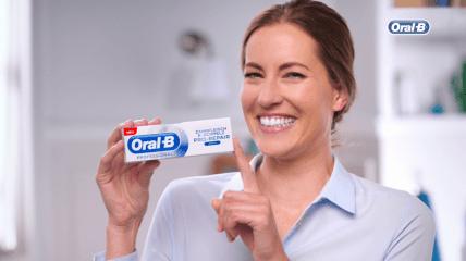 Die neue Oral-B PROFESSIONAL Zahnfleisch & -Schmelz PRO-REPAIR Zahncreme