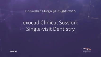 Dr. Gulshan Murgai @ exocad Insights 2020