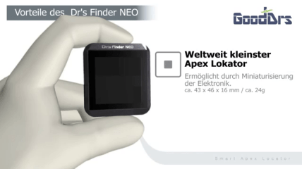 Dr's Finder NEO – weltweit kleinster Apex Lokator