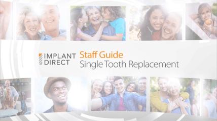 Einzelzahnimplantation mit Implant Direct – So geht's