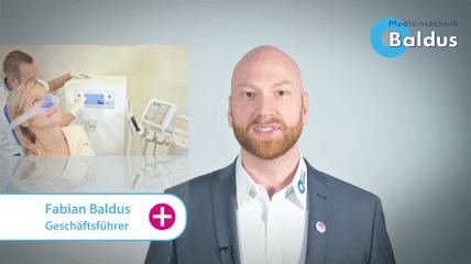 Lachgassedierung von Baldus: Darum sind wir der richtige Partner