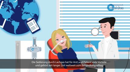 Lachgassedierung: Vorteile für Patient und Behandler