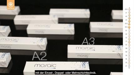 Mosaic™ Universalkomposit – für einfache und anspruchsvolle Restaurationen