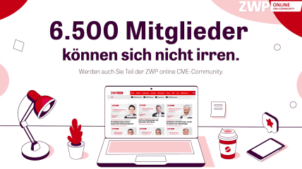 Online statt vor Ort: Die ZWP online CME-Community