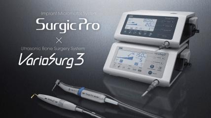 Surgic Pro und VarioSurg3: Synergie für die Implantologie