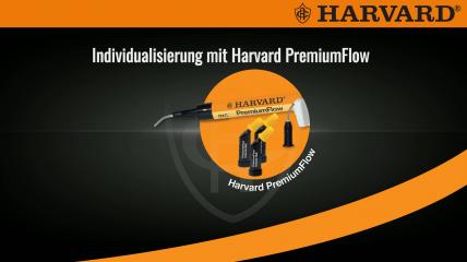 Temporäre Versorgung mit Harvard Temp C&B