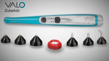 VALO® von Ultradent Products mit praktischem Zubehör
