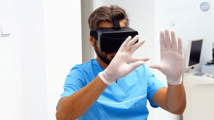 Virtual Reality von Komet Dental zur IDS 2019