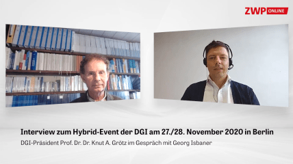 Web-Interview mit Prof. Grötz: Hybrid-Event der DGI